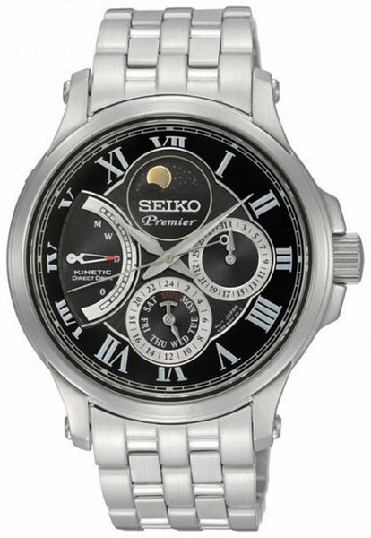 Seiko Automatic Quartz SRX005P1 Watch (New with Tags)