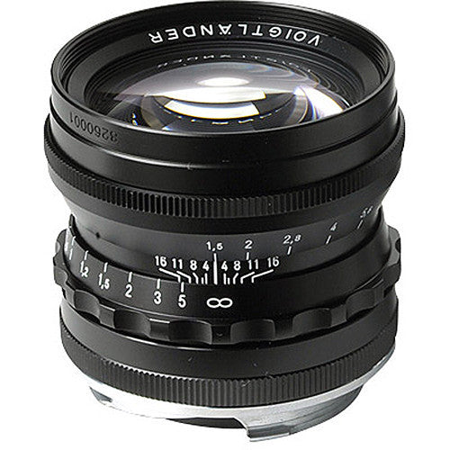 Voigtlander NOKTON 50mm F1.5 Aspherical VM (Black) Lens