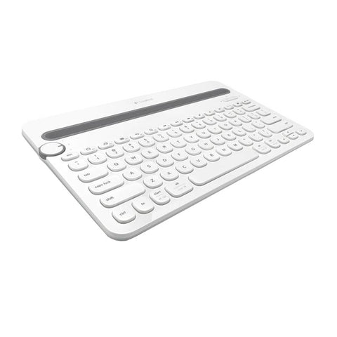 Logitech K480 Bluetooth Multi Device Keyboard (White) 920-006381