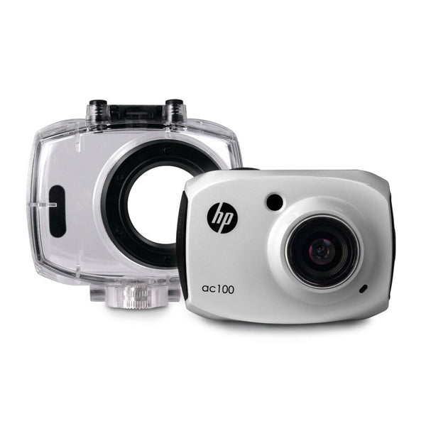 HP AC100 White Digital Action Camera