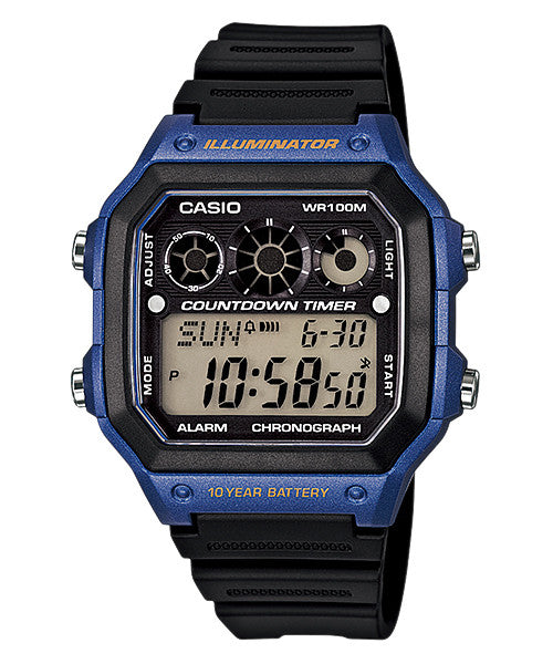 Casio Classic Youth Digital AE-1300WH-2A Watch (New with Tags)