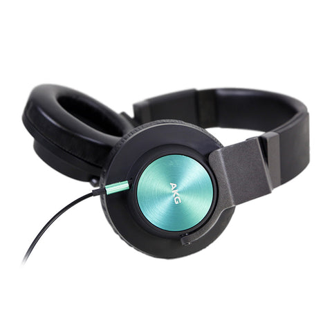 AKG K545 Over-Ear Headphone (Black/Turquoise)