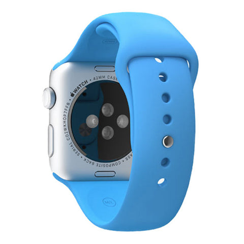 Apple Watch Sport 42mm Aluminum Case Sport Band MLC52 (Blue)