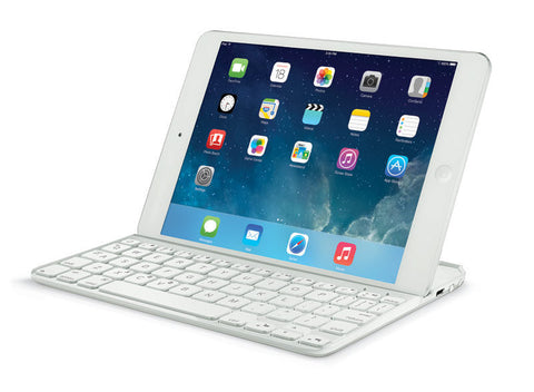 Logitech Ultrathin Magnetic Clip-On Keyboard Cover for iPad Air 2 Silver