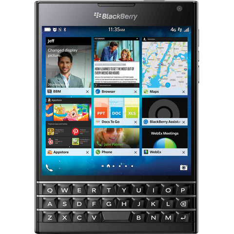 Blackberry Passport 4G LTE Black Unlocked