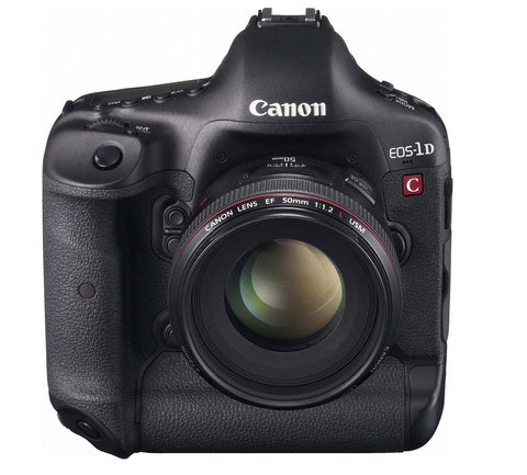 Canon EOS 1D C Black Digital SLR Camera