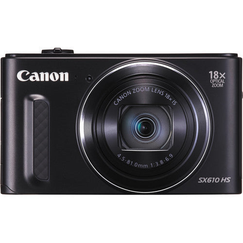 Canon PowerShot SX610 HS Black Digital Camera