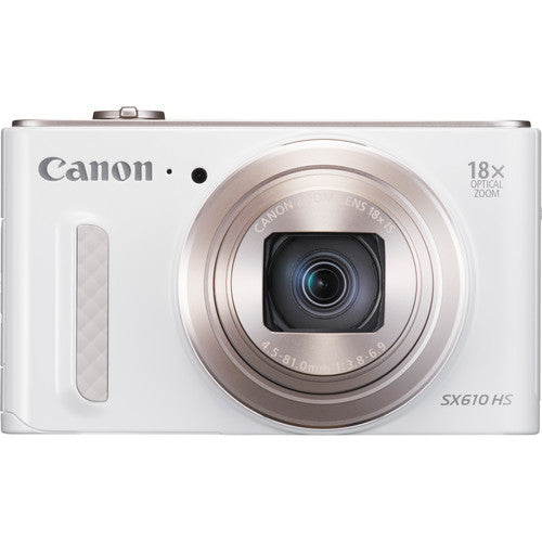 Canon PowerShot SX610 HS White Digital Camera