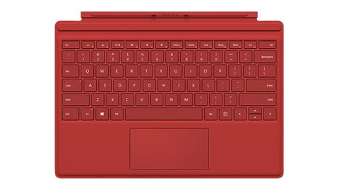 Microsoft Surface Pro 4 Type Keyboard Cover R9Q-00083 (Red)