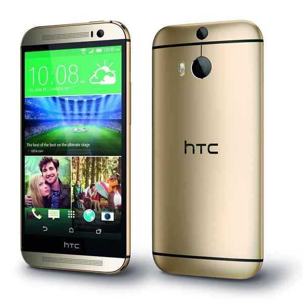 HTC One M8 2014 Edition 4G LTE 16GB Gold Unlocked