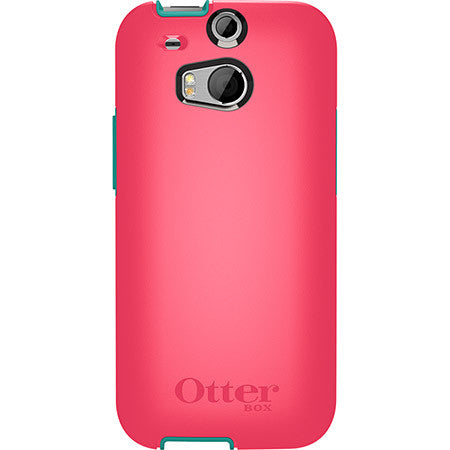 OtterBox Symmetry Series for HTC One M8 Teal Rose