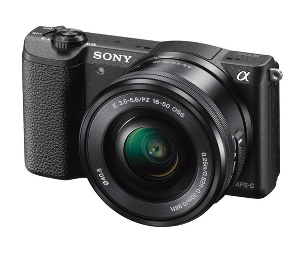 Sony Alpha A5100 ILCE-5100L with 16-50mm Lens Black Mirrorless Digital Camera