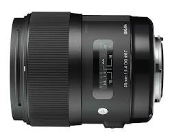 Sigma 35mm F1.4 DG HSM Black (Sony) Lens