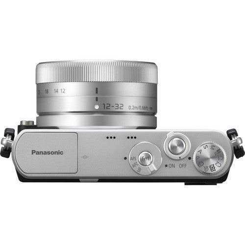 Panasonic Lumix DMC-GM1 Kit with 12-32mm Lens Silver Mirrorless Micro Four Thirds Digital Camera