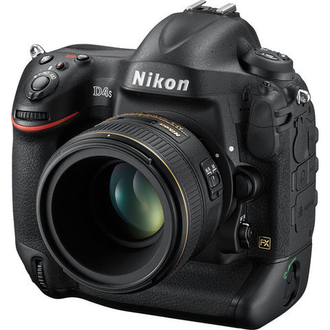Nikon D4S Black Digital SLR Camera