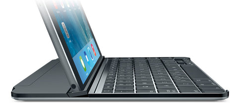Logitech Ultrathin Magnetic Clip-On Keyboard Cover for iPad Air 2 Space Grey
