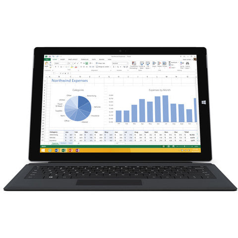 Microsoft Surface Pro 3 Type Keyboard Cover (Black)