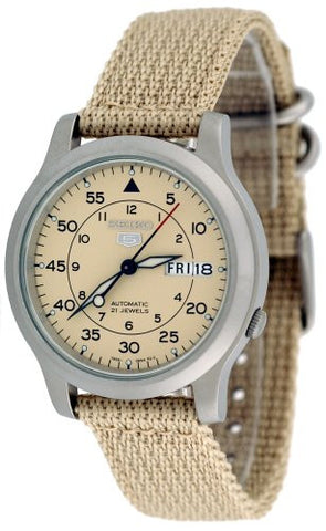 Seiko Automatic Military SNK803K2 Watch (New with Tags)
