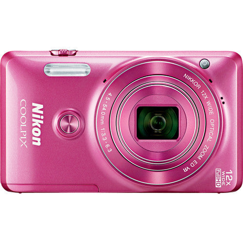 Nikon Coolpix S6900 Pink Digital Camera