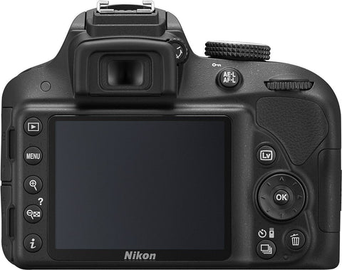 Nikon D3300 Body Black  Digital SLR Camera (Kit Box)