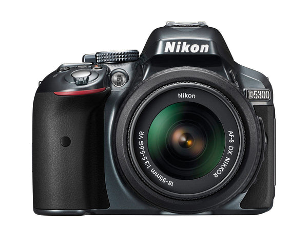 Nikon D5300 Kit with 18-55mm Lens Grey Digital SLR Camera