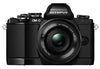Olympus OM-D E-M10 Kit with 14-42mm EZ and 40-150mm Lenses Kit Black Digital SLR Cameras