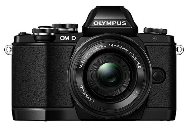 Olympus OM-D E-M10 Kit with 14-42mm EZ Lens Black Digital SLR Cameras (White Box)