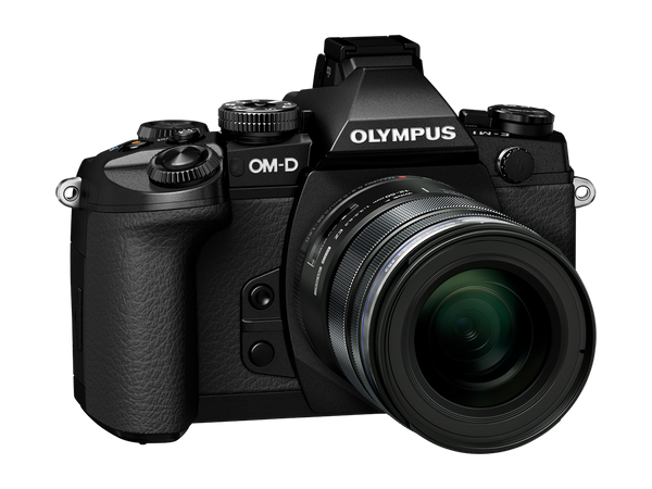 Olympus OM-D E-M1 Mirrorless Micro Four Thirds with 12-40mm f2.8 PRO Lens Black Digital Camera