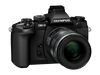 Olympus OM-D E-M1 Mirrorless Micro Four Thirds with 12-50mm f3.5-6.3 Lens Black Digital Camera