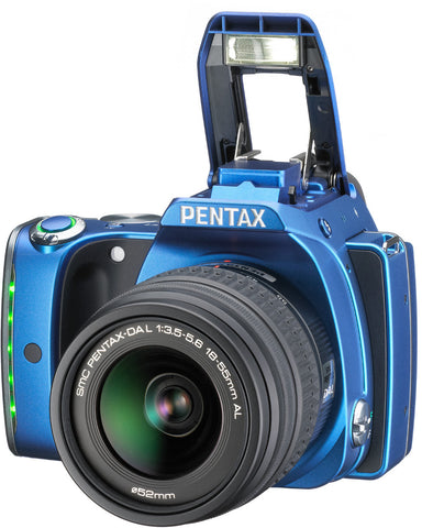 Pentax K-S1 Kit with 18-55mm Lens Blue Digital SLR Camera
