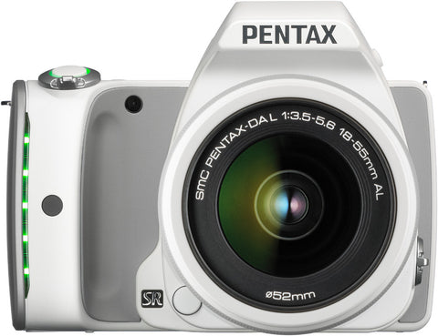 Pentax K-S1 Kit with 18-55mm Lens White Digital SLR Camera