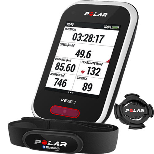 Polar Cycling V650 90050536 with Heart Rate Sensor Cycling Computer