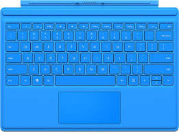 Microsoft Surface Pro 4 Type Keyboard Cover R9Q-00065 (Bright Blue)