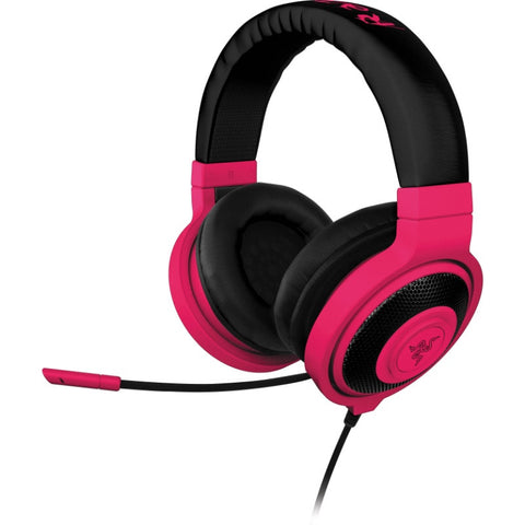 Razer Kraken Pro Neon Analog Gaming Headset RZ04-00871200-R3 (Neon Red)