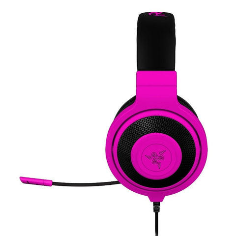 Razer Kraken Pro Neon Analog Gaming Headset RZ04-00871300-R3 (Neon Purple)
