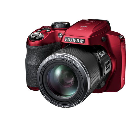 Fuji Film FinePix S9800 Red Digital Camera