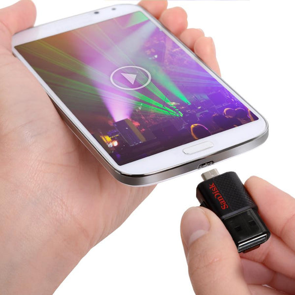 SanDisk Ultra Dual USB Drive for Smartphones and Tablets 64GB