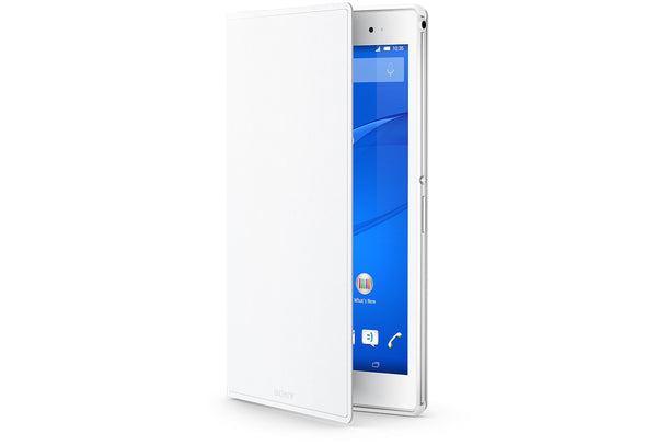 Sony Style Cover Stand SCR28 for Xperia Z3 Tablet Compact (White)