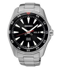 Seiko Solar SNE393P1 Watch (New with Tags)