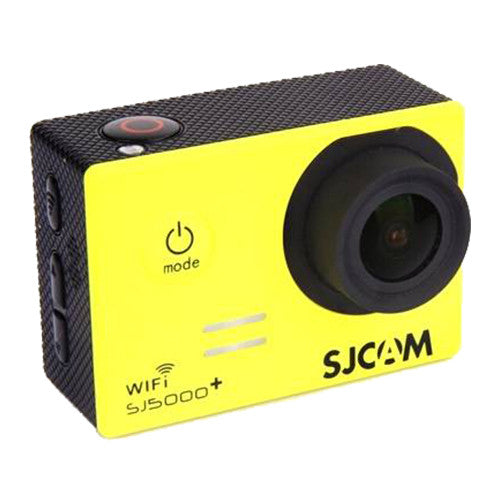 SJCAM SJ5000 Plus WiFi 1080p Full HD DVR Action Sport Camera Yellow