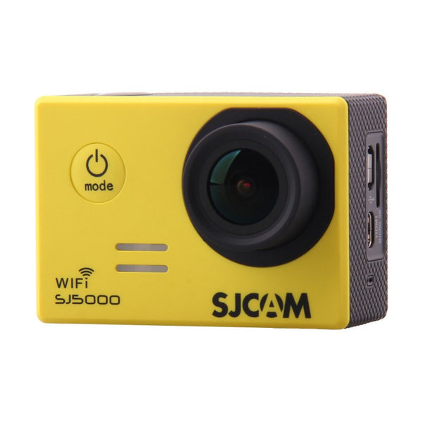SJCAM SJ5000 WiFi 1080p Full HD DVR Action Sport Camera Yellow