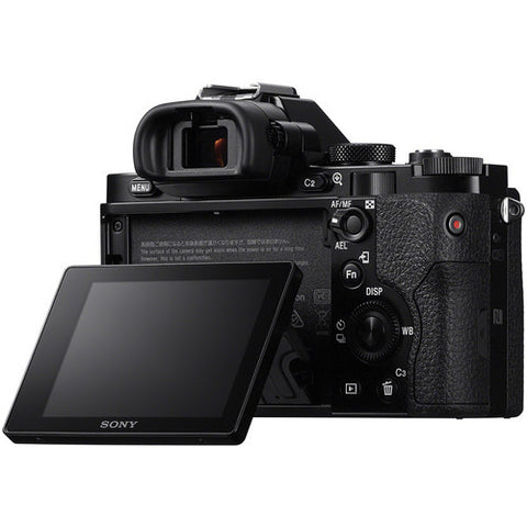 Sony Alpha A7 ILCE-7 Mirrorless Black Body Digital SLR Camera