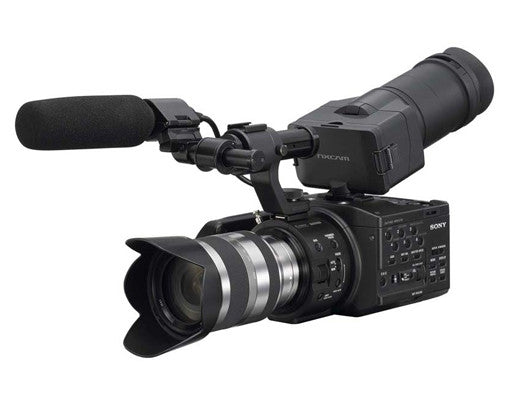 Sony Handycam NEX-FS100 DV with 18-200mm Black (NTSC) Video Camera and Camcorders