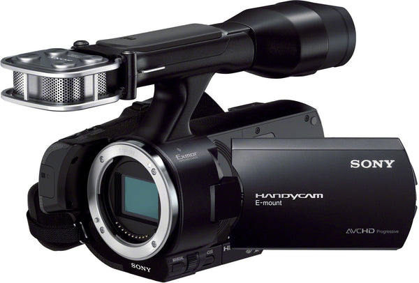 Sony Handycam NEX-VG30EH Kit (18-200mm) Black (PAL) Video Camera and Camcorders