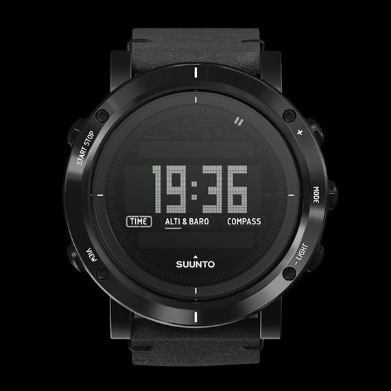 Suunto Essential Collection Outdoor Watch SS021215000 (Carbon)