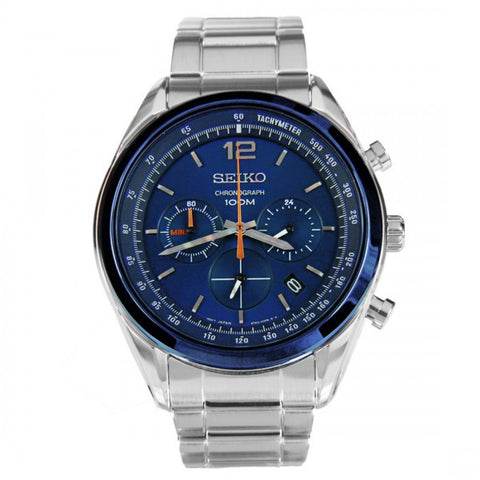 Seiko Tachymeter Chronograph SSB091P1 Watch (New with Tags)