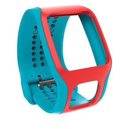 TomTom Cardio Comfort Strap (Turquoise/Red)