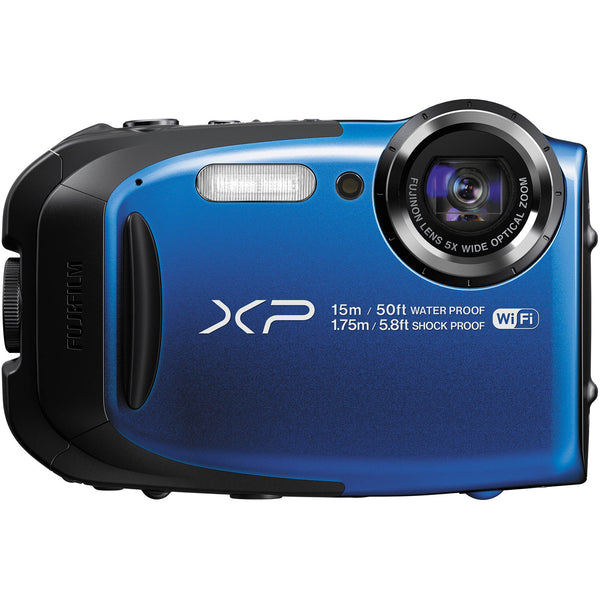 Fuji Film FinePix XP80 Blue Digital Camera