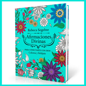 Afirmaciones Divinas - Coloring Book para Adultos y Niños - Soft Cover - Regular