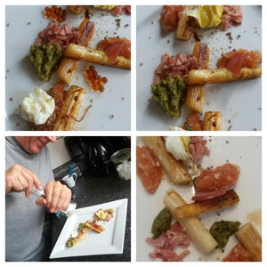 Swinkl Asperges met ham en pesto van peterselie en citroengas